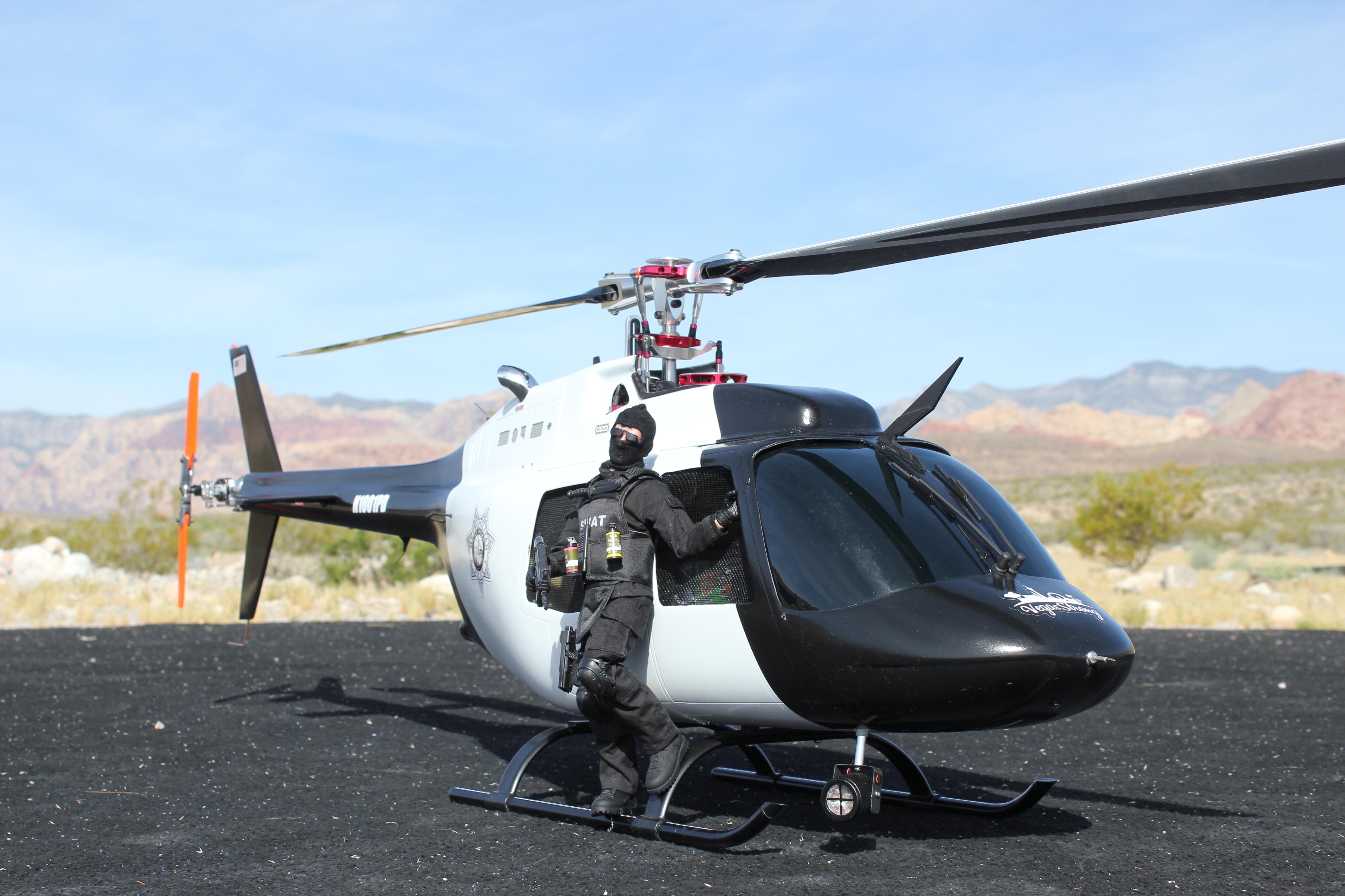 TR700 in Jet Ranger body - Las vegas Metro Police Oct 1 commemoritive