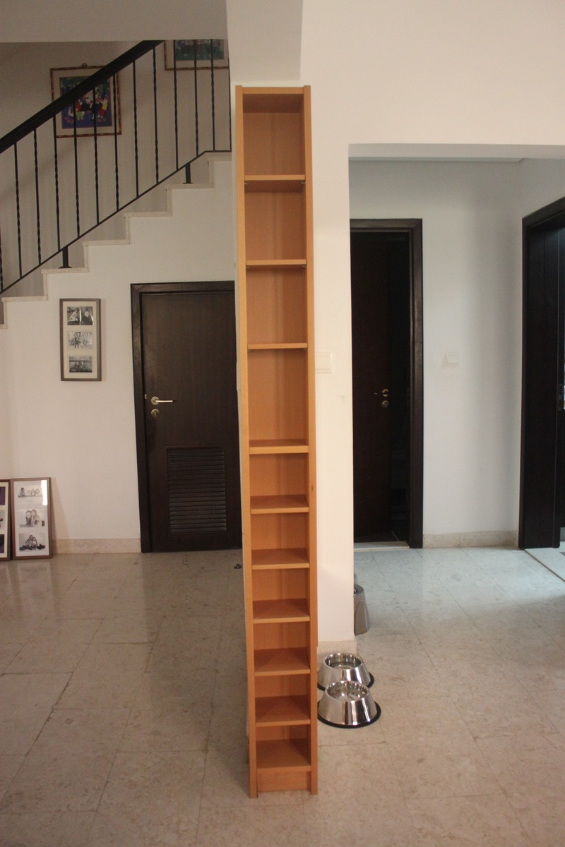 CD/DVD shelf unit