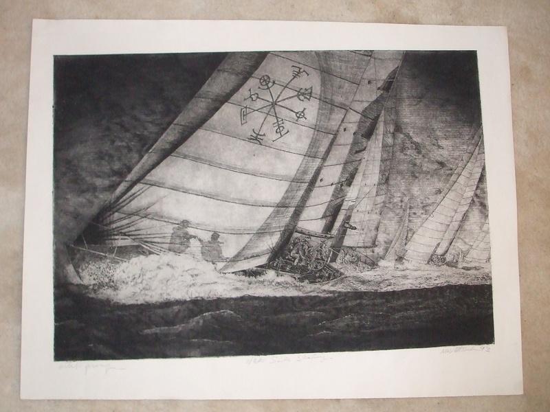 White Sails Shaking Aritist Proof '93