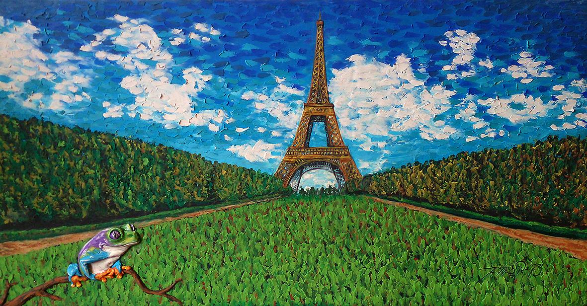 Lucky in Paris