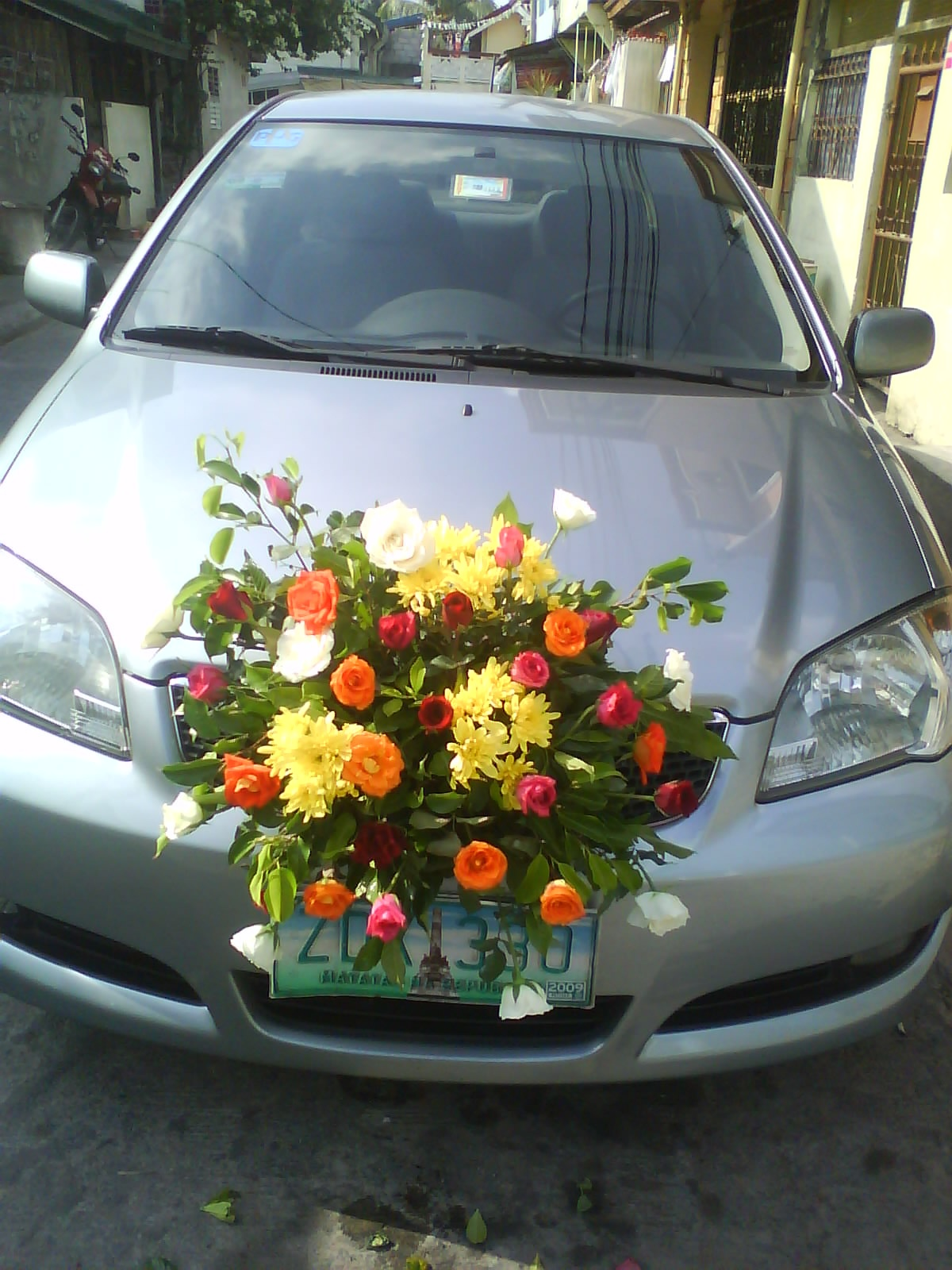 car bouquet