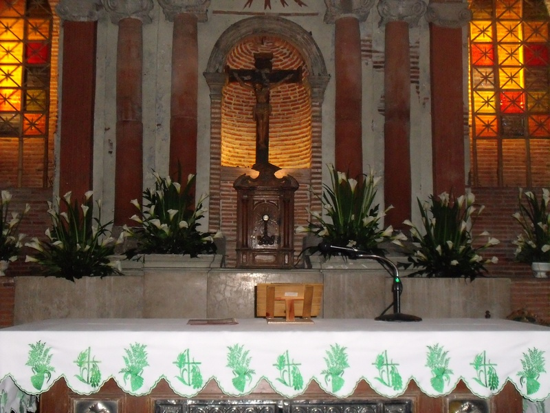 church arrangement/altar arrangement