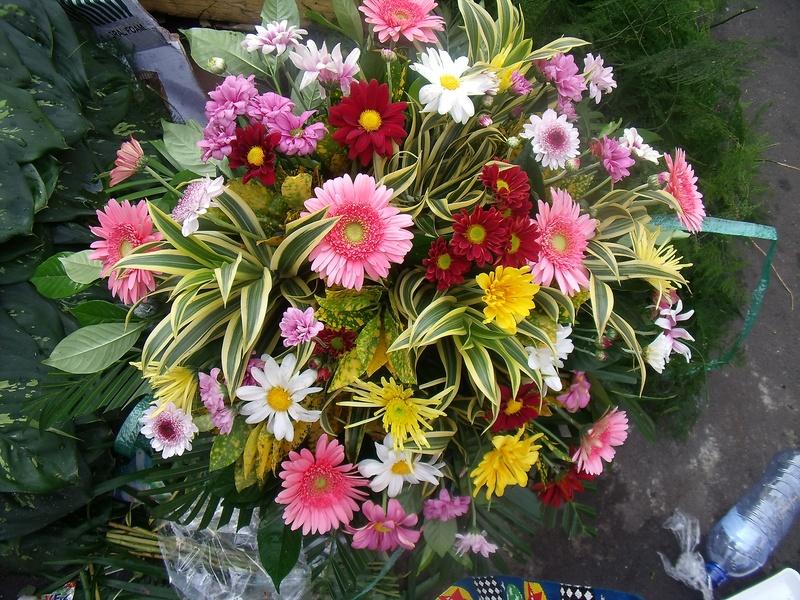 car bouquet arrangement