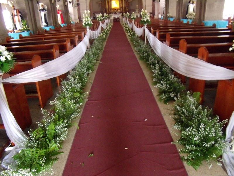 running aisle arrangement