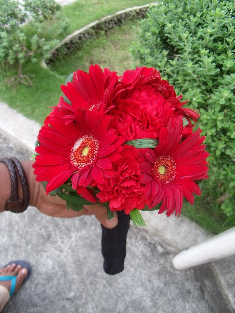 hantied mini bouquet