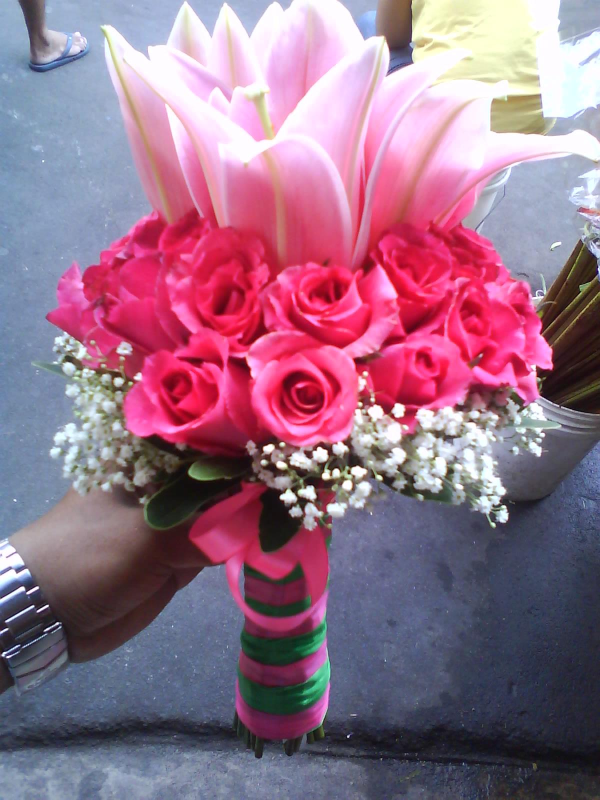 bridal bouququet