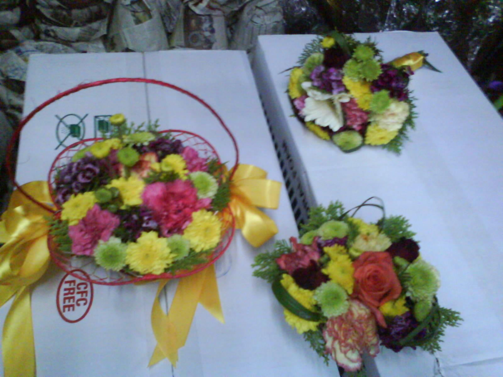 flower grl basket