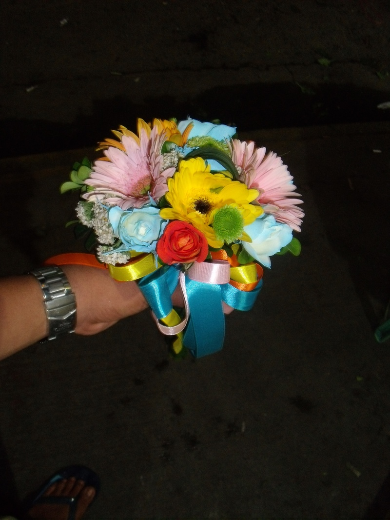 mini bouquet/sponsors