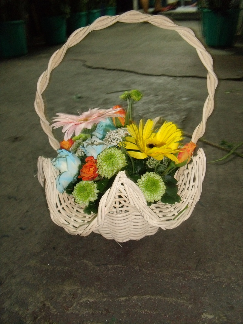 flower grl basket