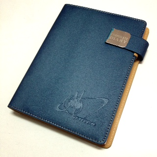 Corporate Diary with logo deboss