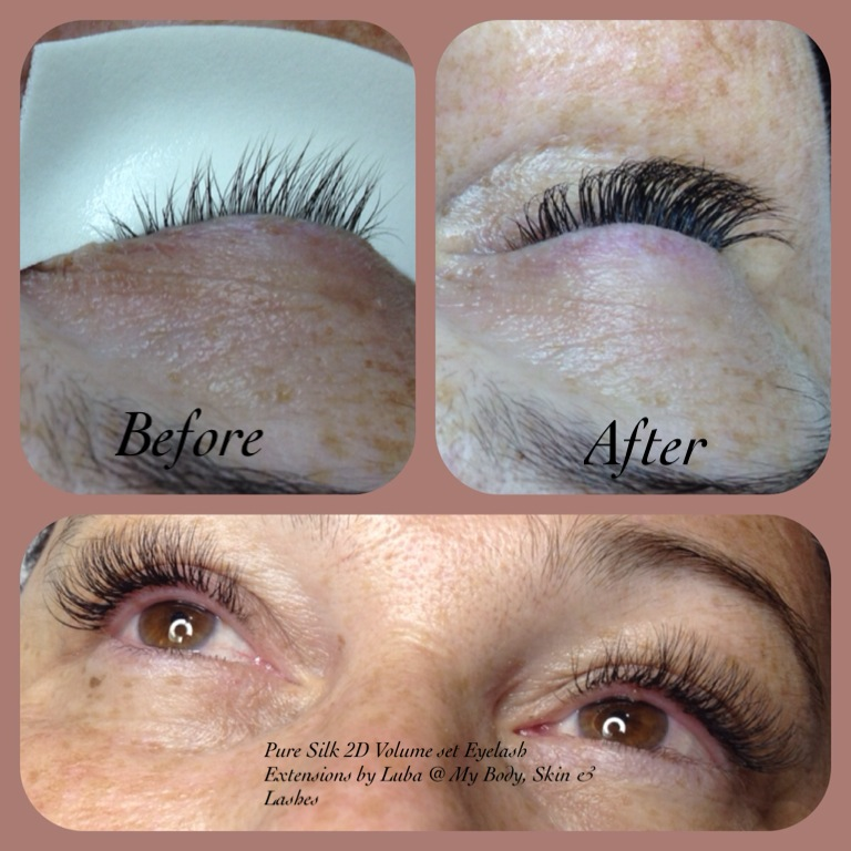 Deluxe Full Set Eyelash Extensions 2