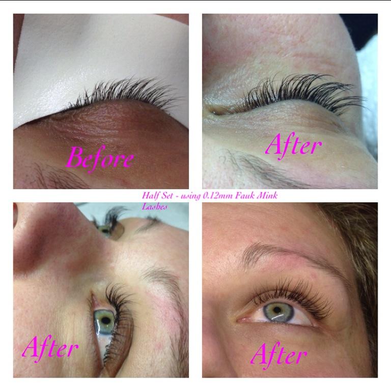 Natural 12 Set Eyelash Extensions Narre Warren