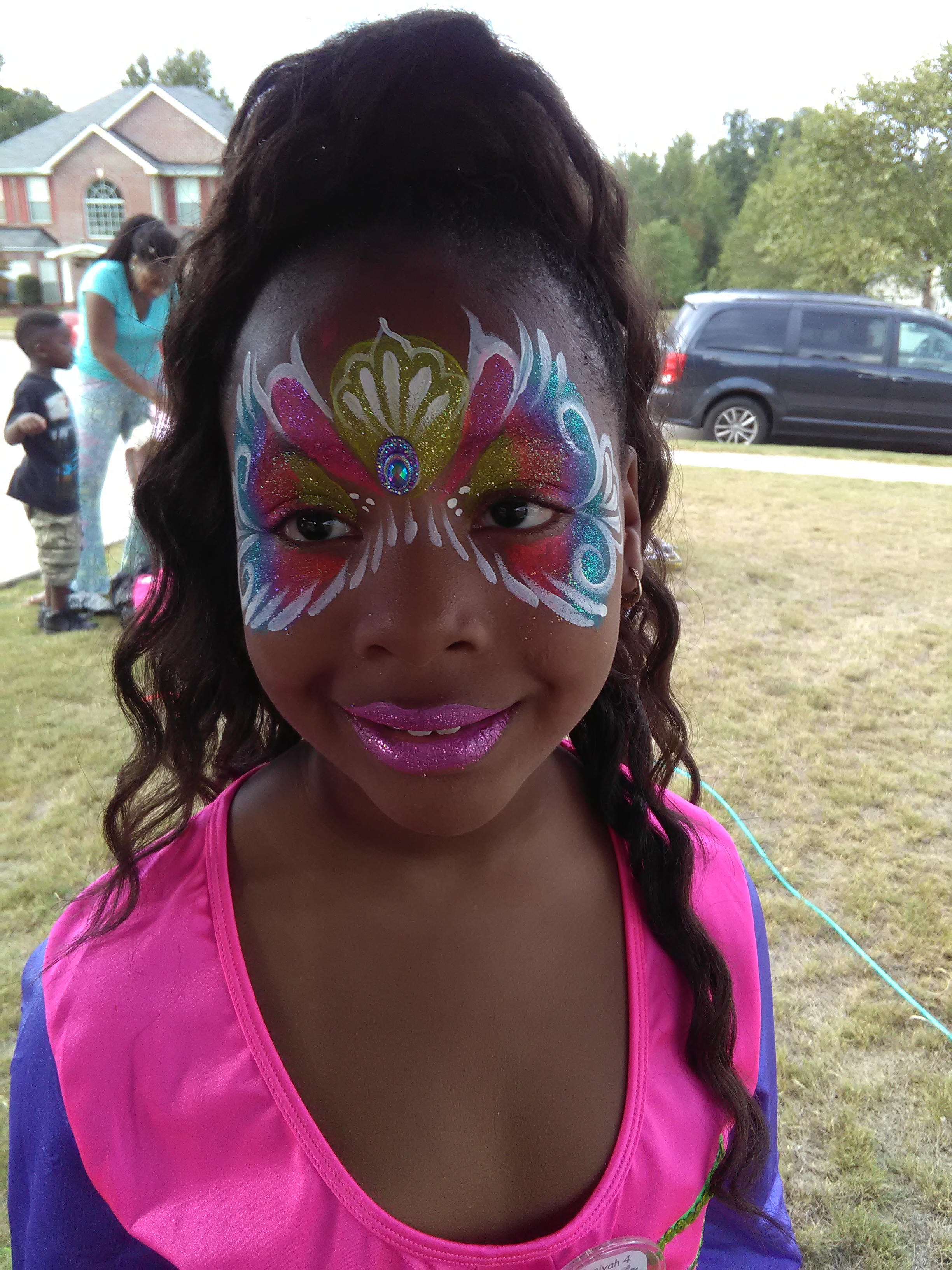 Tutti Fruity Mask Face Paint