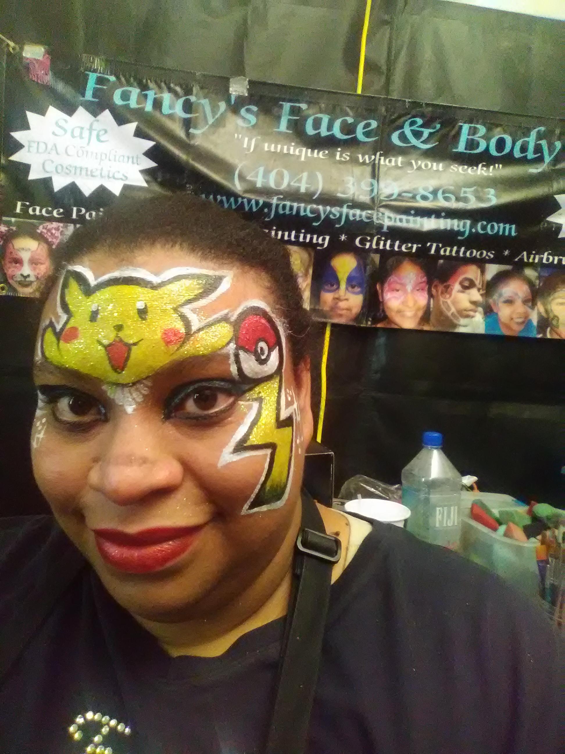 Pikachu Face Paint