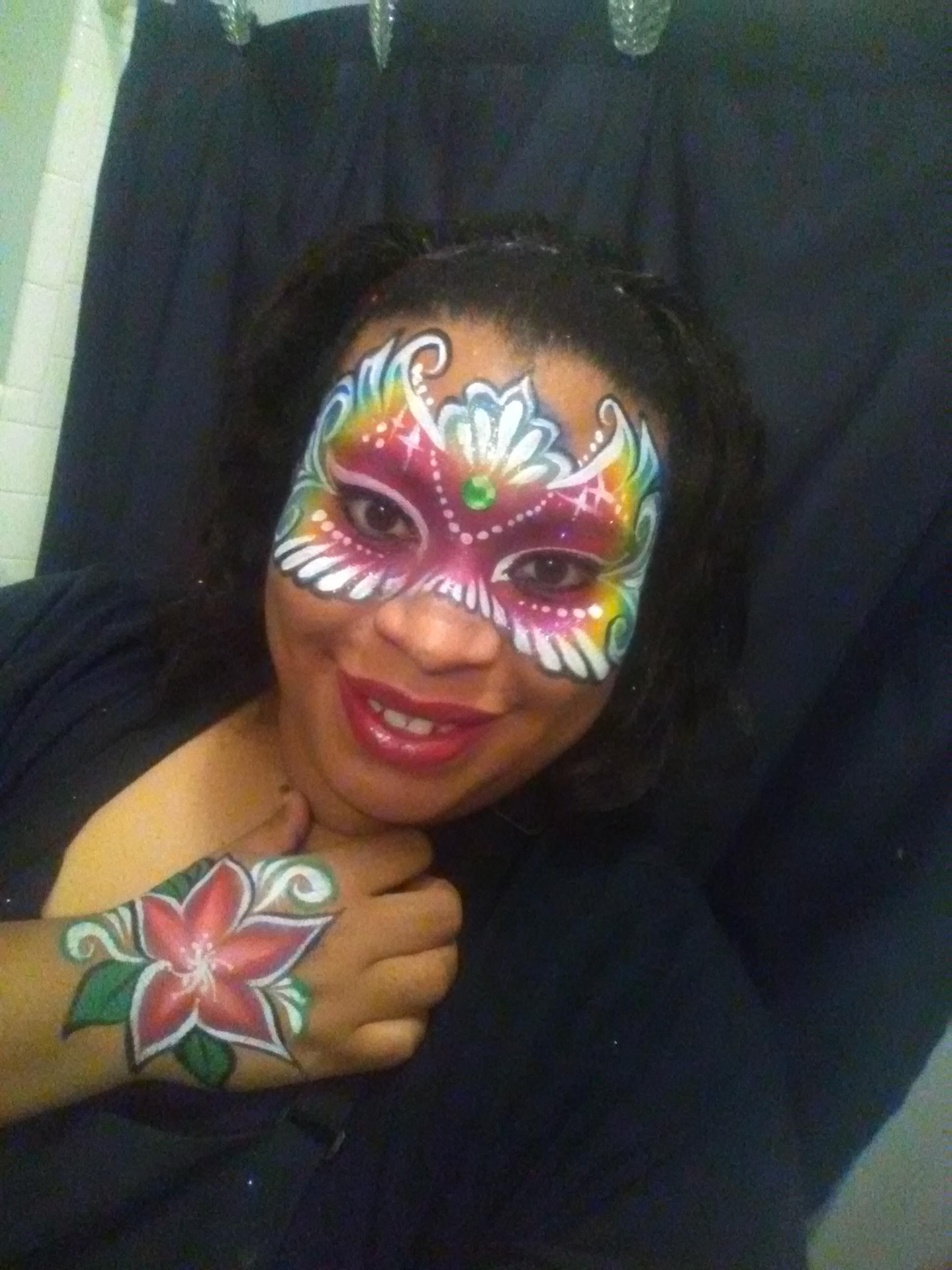 Just Me Fancy the Face Painter