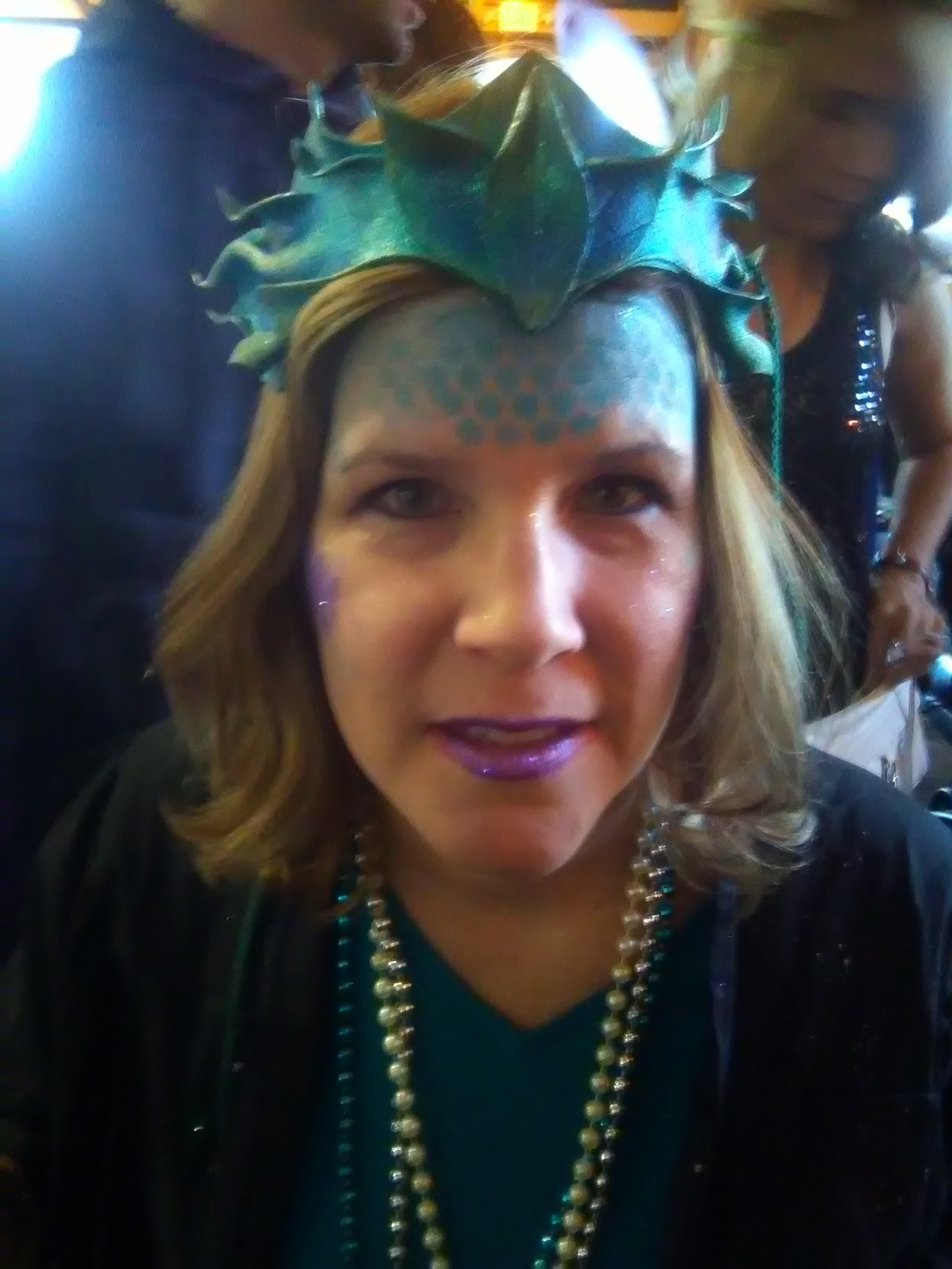 Monster Mash Fairy Tale Bash CHOA Sea Witch face painting