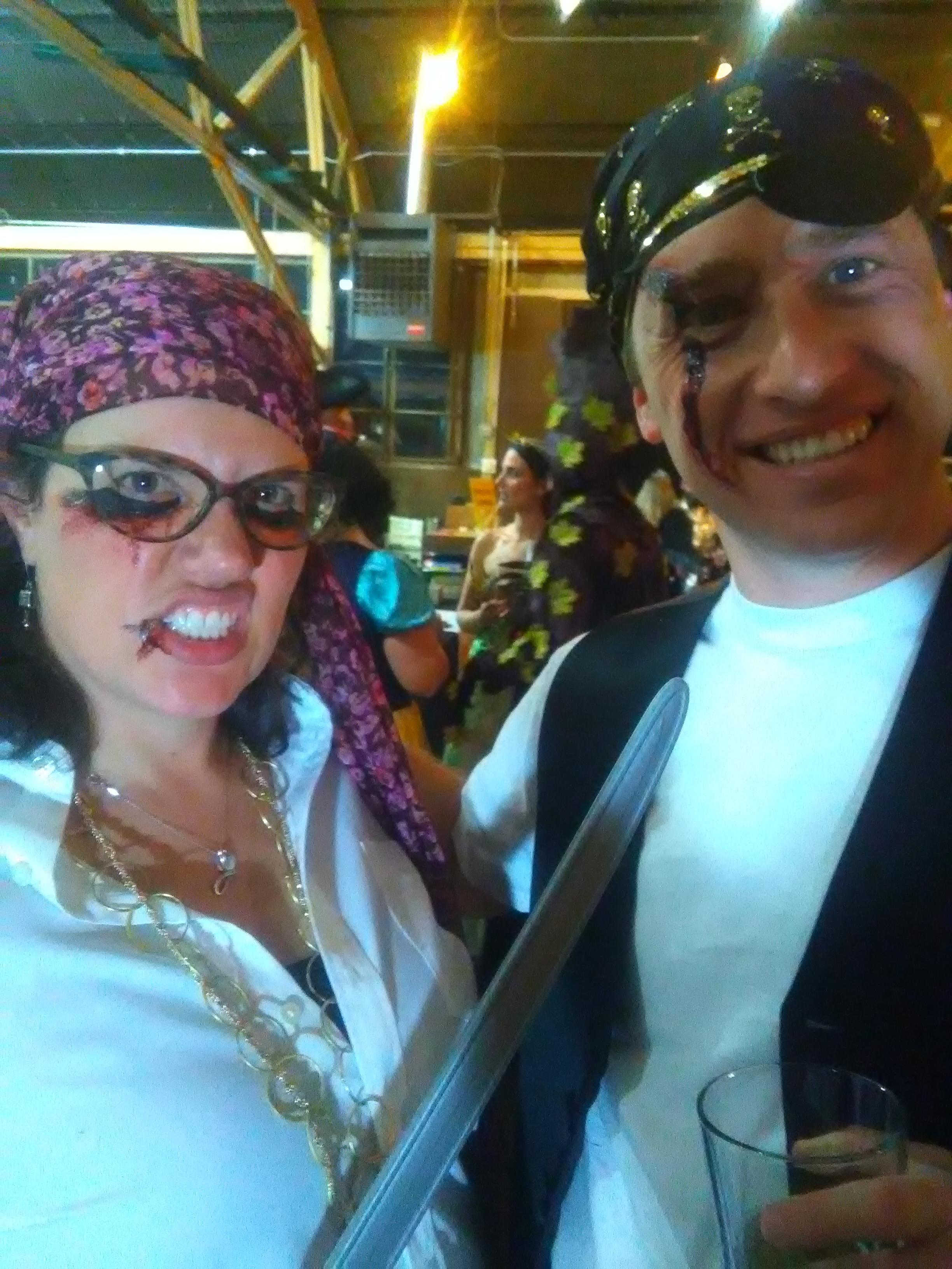 Monster Mash Fairy Tale Bash CHOA Pirate face paint