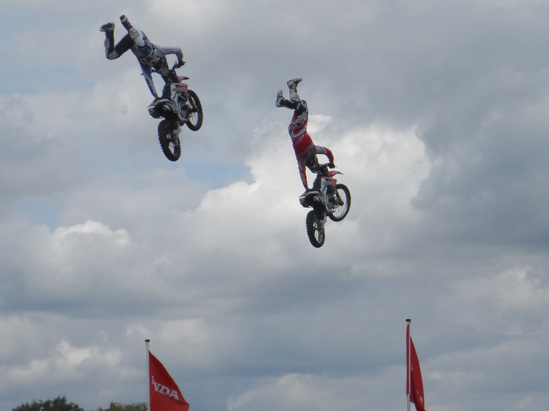 Edenbridge - motorbike display