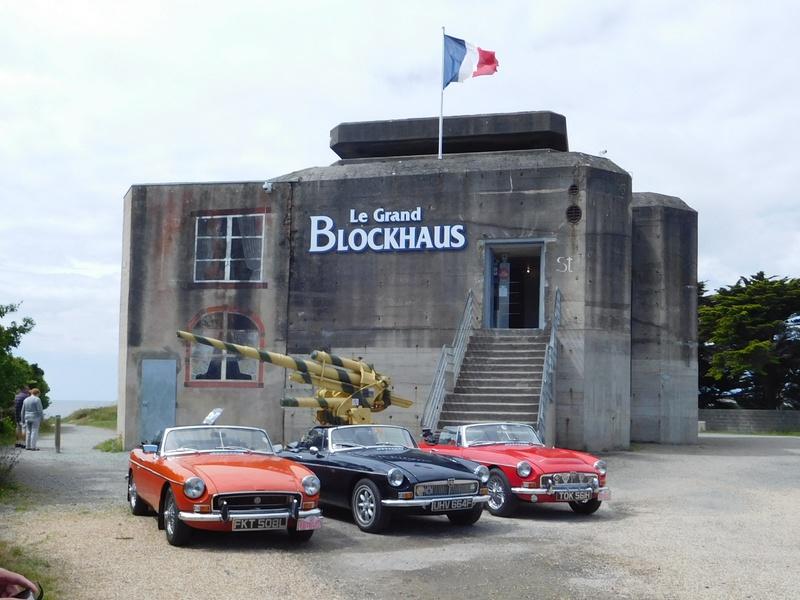 Blockhaus at Batz-sur-mer