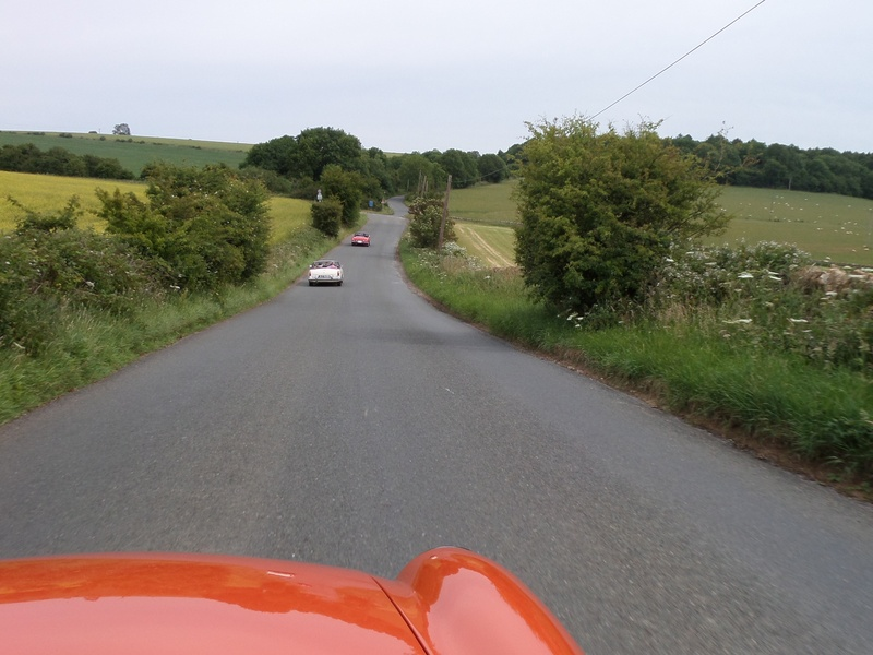 Lovely drive in the countryside