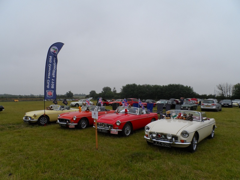 MG Owners 40th Swavesey