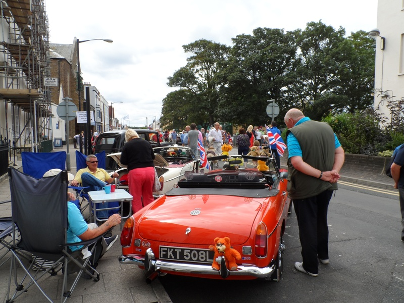 Busy at Herne Bay show