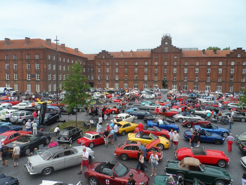 A few of the cars at Guise