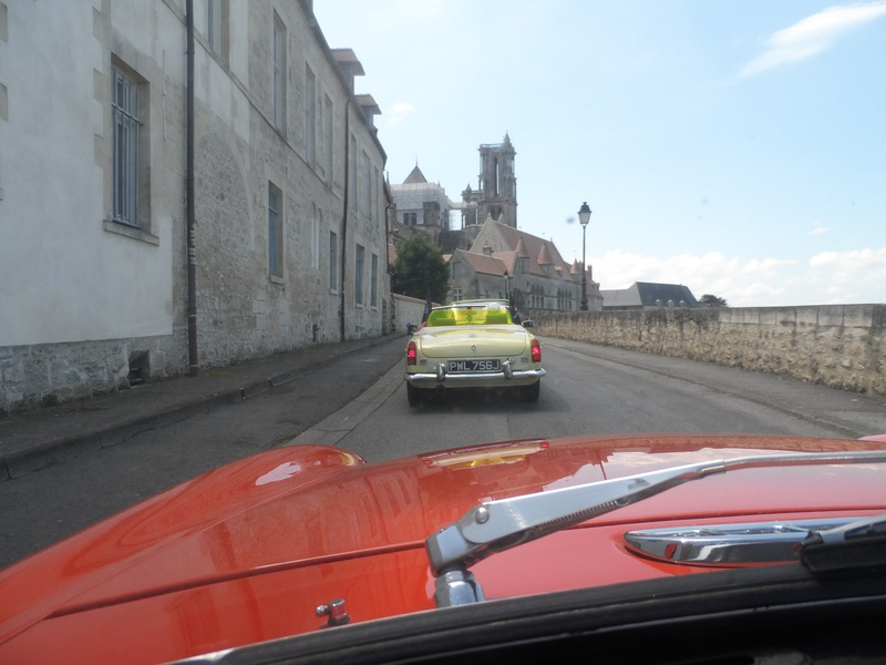 Driving round Laon