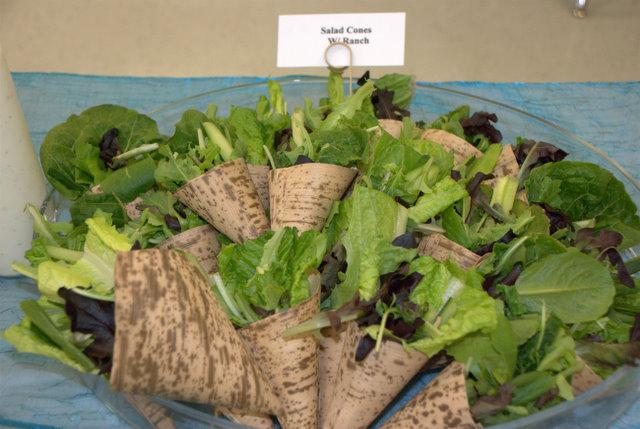 Salad Cones!