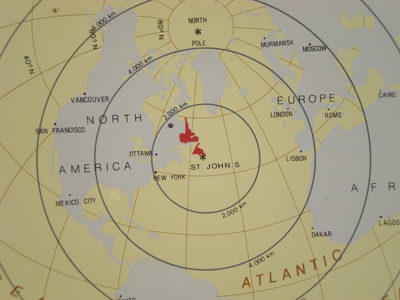 The Map of Distances