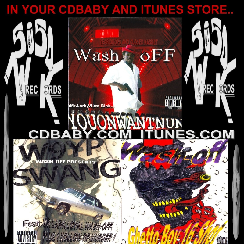 IN STORES!! CDBABY.COM & ITUNES.COM WASH-OFF