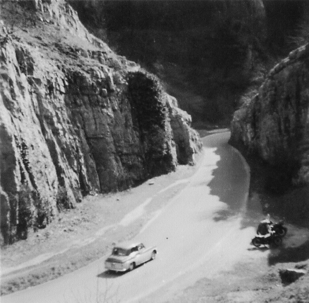 Trip out, Spring 1958