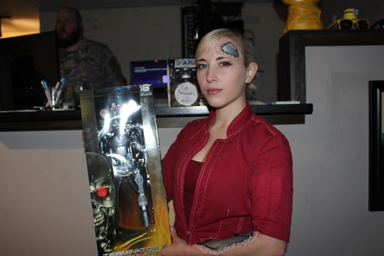 J Cosplay as the T-X Terminatrix and Prize