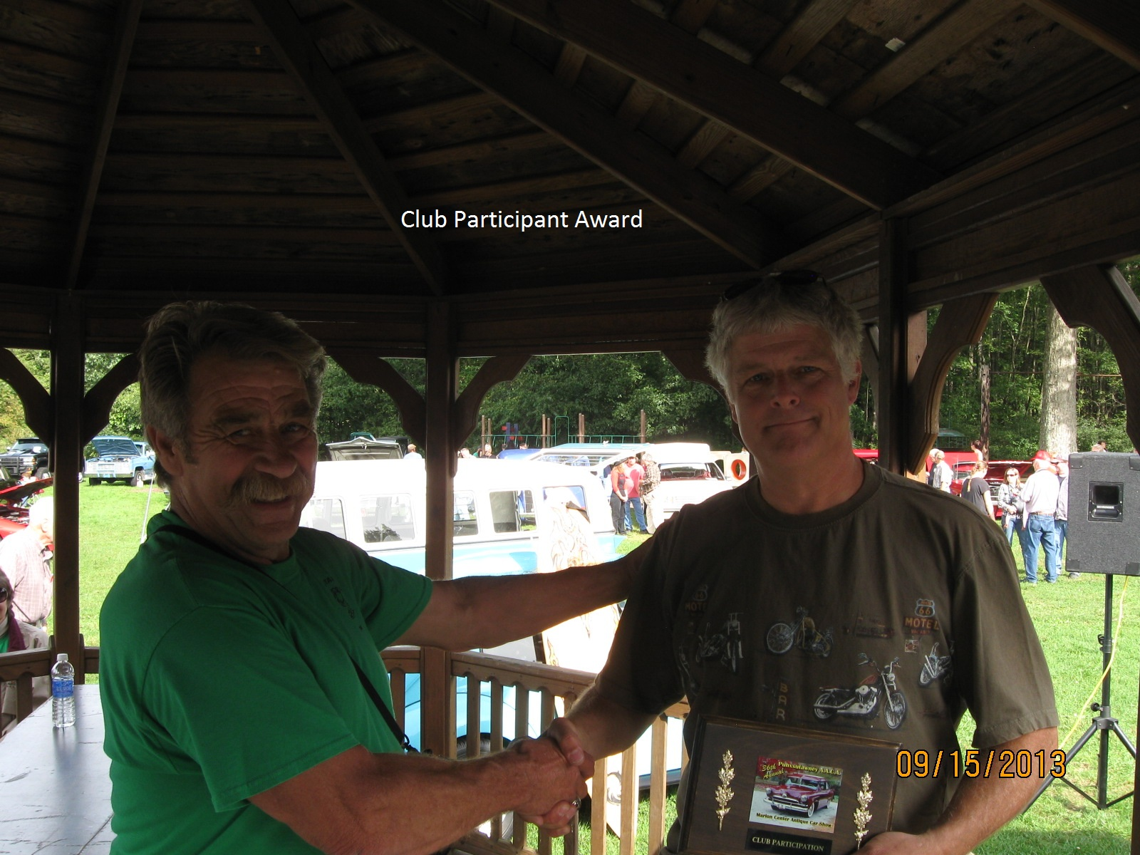 Club Participant Award Winner