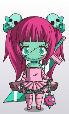 Talia's Halloween Costume