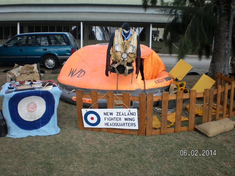 NZ Fighter Wing HQ Display