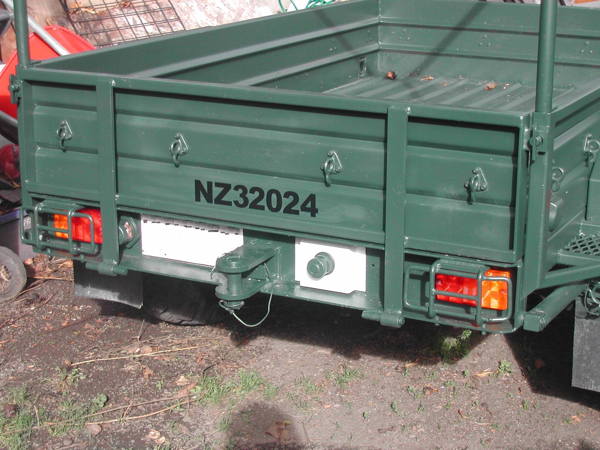 Mortar Trailer NZ32024