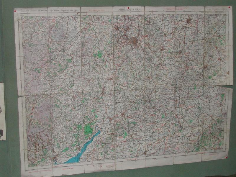 Original Map of West Midlands