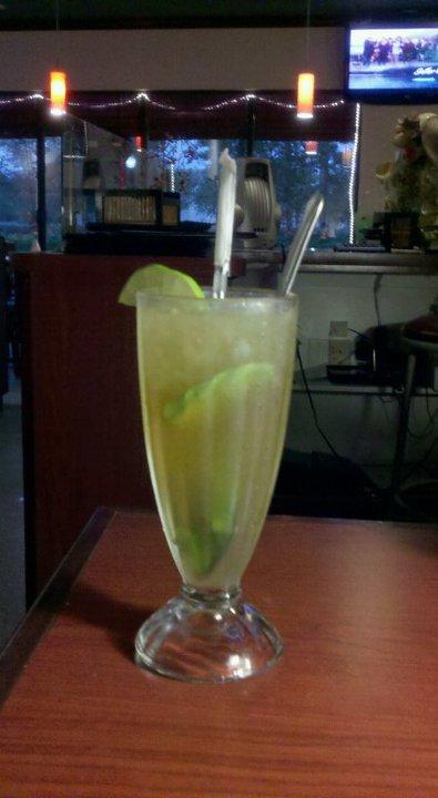 Iced Lemon Ginger Tea