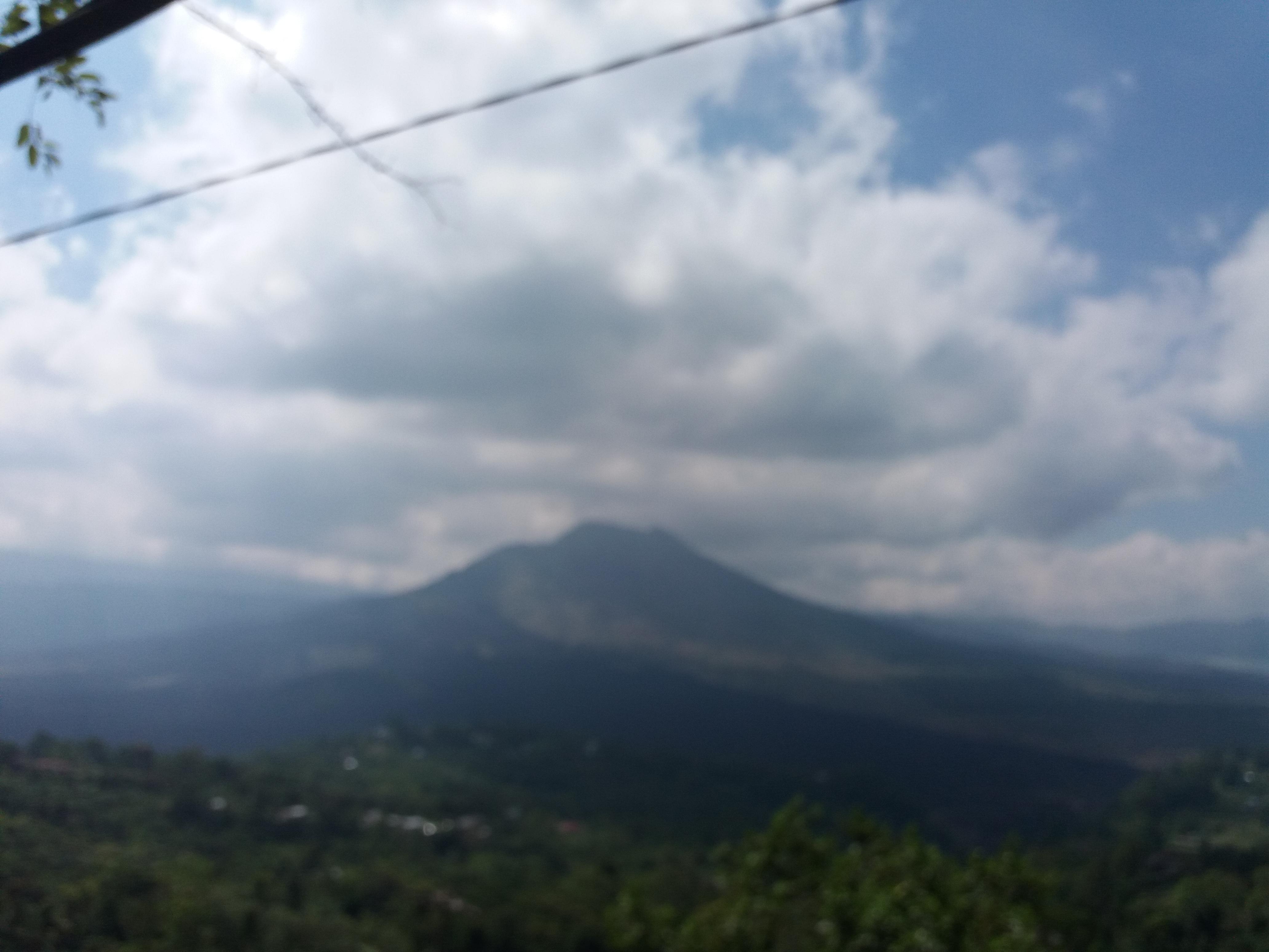 Kintamani pogled na vulkan