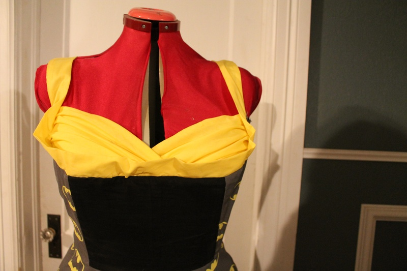 Batman Dress Bodice