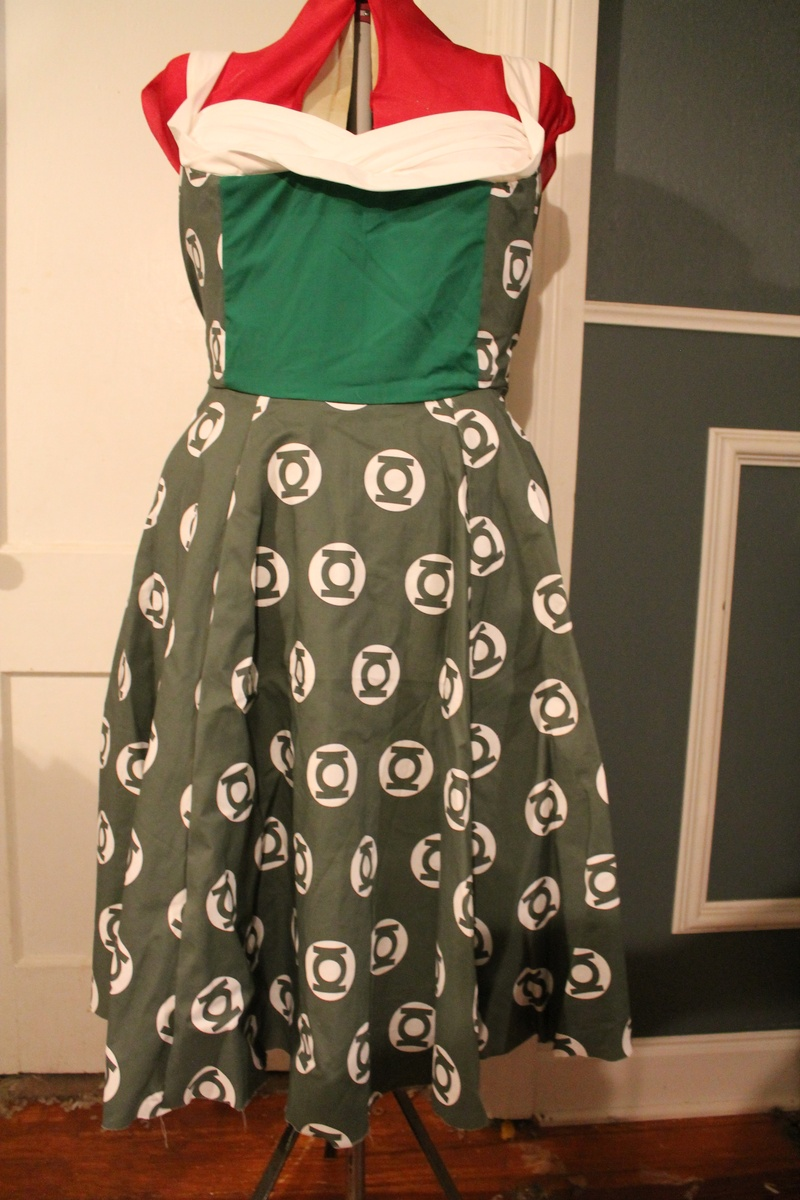 Green Lantern Dress