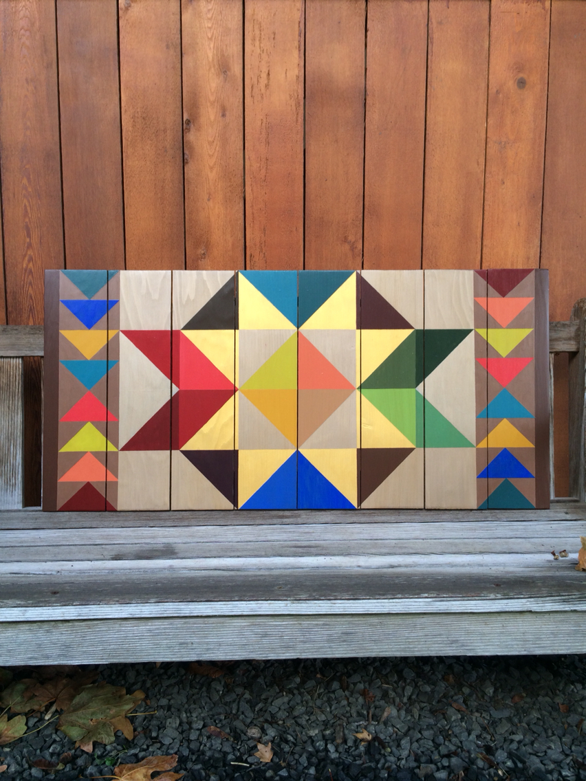 Personal Barn Quilt for Bedroom #7