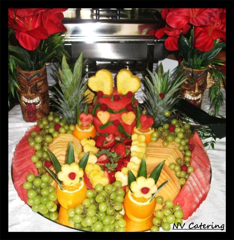 Hawaiian Theme Wedding
