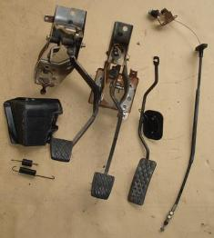 Ae86 Brake Pedals / Acell Pedal / Acell Cable
