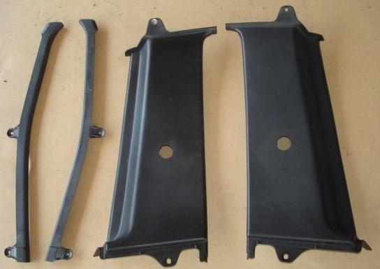 AE86 3DR BLACK Trims