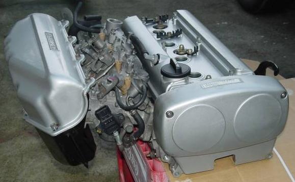 4AG 20V Head & Throttles Assy