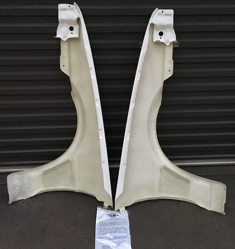 BRAND NEW RUN FREE FRP Guards