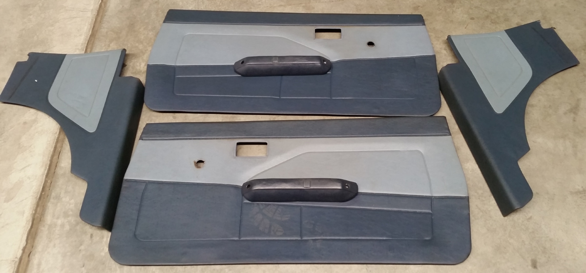 GTV Blue 3dr Prior  Front & Rear Trims