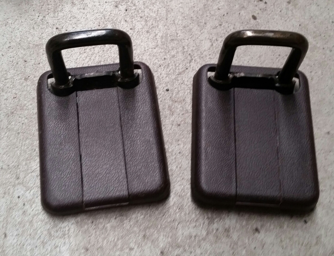 Rear 3dr Htach Seat Brackets upper Brown